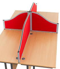 morton acoustic wave desk mounted office screens morton desk divider