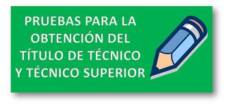 Resultado de imagen de titulo de tecnico o tecnico superior de formacion profesional