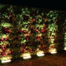 light single sided or double green walls verde outdoor wall lighting