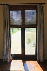 medium size of roller shades for sliding glass doors roman shades for french doors bypass plantation