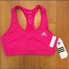 Adidas Techfit Sports Bra Pink Nwt