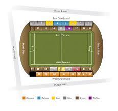 Panthers Stadium Chart Panthers Stadium Seating Map Austadiums