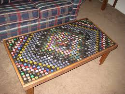 bottle cap furniture. Bottle Cap Coffee Table Furniture F