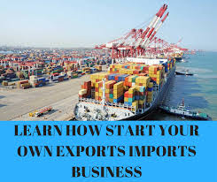 Imports Business Learn How To Kick Start Your Own Exports Imports Business With Santhosh At Race Course Road Bangalore Events High