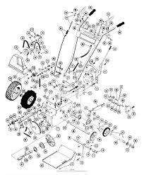 932006 040001 049500 st504 5hp tec 24 blower tractor parts ⎙ print diagram
