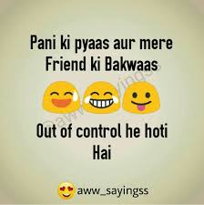 Dhara Frnds Friendship Quotes Funny Quotes In Hindi Bff