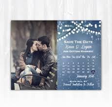 Winter Wedding Save The Date Winter Save The Date Magnet Or Card Diy Idealpin