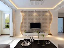 drywall designs living room gypsum board tv wall design with led lights for modern living rooms 2019 best decoration