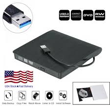 <b>USB 3.0</b> External <b>DVD Drive</b> Slim Slot DVD VCD CD RW Drive ...