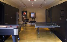 game room lighting. View In Gallery Lovely Rail Lighting The Game Room Turned Garage M