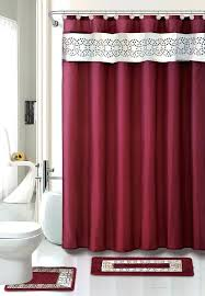 modern bathroom rugs contemporary bath shower curtain red all