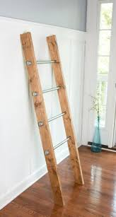 Buy a Custom Made Wooden Ladder W/ Industrial Pipe - Blanket ... & Buy a Custom Made Wooden Ladder W/ Industrial Pipe - Blanket Ladder - Quilt  Rack - Housewarming Gift, made to order from Homestead 12 TwentySeven ... Adamdwight.com