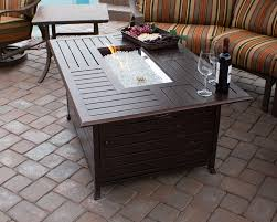 outdoor propane fire pits coffee table pit