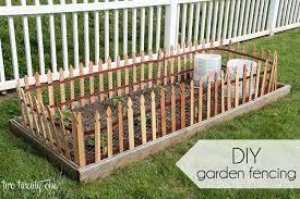 diy garden fencing diy garden fence