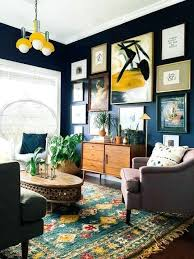 eclectic wall art large 9 dark rich vibrant rooms that will make you rethink everything know about color home inspiration