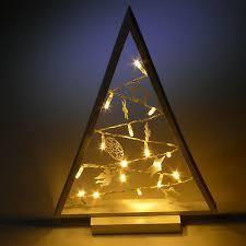 Led Fensterdeko Weihnachten Deko Dekobaum Hänger Holz 15