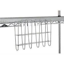 chrome wire file storage basket 12 3 4 x 8 3 4 x 2 5 8