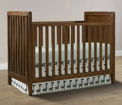 stella baby and child skyla collection cottage crib in walnut