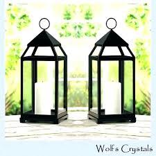 set of 3 candle lanterns