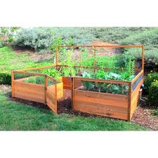 how to build a raised garden container with legs raised garden beds kits and planters eartheasycom