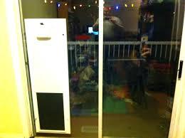 sliding screen doggie door large image for sliding door with pet door built in dog door