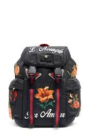 gucci backpack. gucci backpack with canvas patch gucci