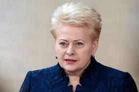 Президент Литвы Даля Грибаускайте Досье Справка Вопрос Ответ  Даля Грибаускайте