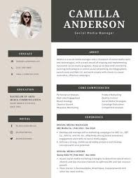 Modern Resume Design Enchanting Cream And Gray Modern Resume Templates By Canva