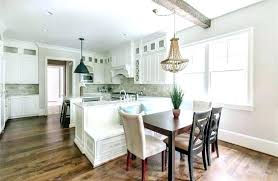 built in kitchen seating built in bench seats kitchen with dining peninsula with built in bench