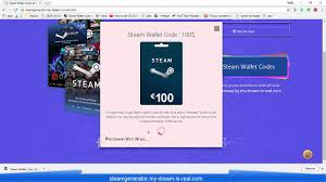 steam wallet codes generator 2018