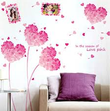 wedding full love wall decals removable decoration pink heart wall art stickers on wall art love heart with wedding full love wall decals removable decoration pink heart wall