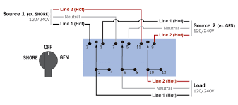 blue sea systems ac source selection rotary switch panels west 4 Position Rotary Switch Wiring Diagram wiring schematic · wiring schematic 4 pole 3 position rotary switch wiring diagram