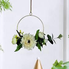 3d geometric wall mounted flower holder