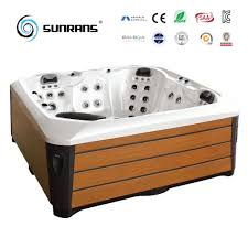 China Outdoor SPA Jacuzzi with Balboa System Aristech Acrylic for 5 Person  - China Jacuzzi, SPA Jacuzzi