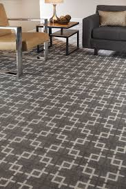 home office rug placement. Geometric Patterned Carpet | Gray \u0026 Cream Home Office Ideas Runner Area Rug Placement M