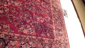 red persian rug american sarouk