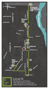 green line citidbus schedule route map