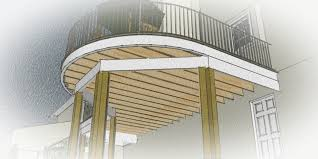 virginia deck design explained part 2 posts beams and joists revolutionary gardens