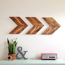wooden arrow wall decor items similar to wood arrow wall art chevron home decor wooden arrow