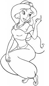 Free Printable Jasmine Coloring Pages For Kids Disney Coloring