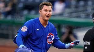 Chicago Cubs outfielder Joc Pederson ...