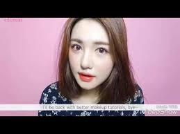 tutorial make up simple untuk anak remaja ala korea