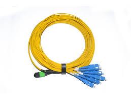 china 8 fiber singlemode mpo mtp to sc ribbon ruggedized cable supplier