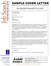 Elements Of A Cover Letters Elements Of A Good Cover Letter Under Fontanacountryinn Com