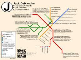richard gonzalez s portfolio pin board features this resume as jack demanche subway map resume