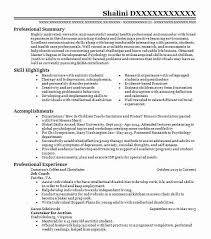 Psychology Resume Examples New 28 Psychology Resume Examples Samples LiveCareer For Customer