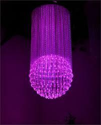fiber optic traditional ball chandelier