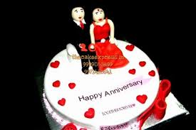 Cake For Couple Anniversary Online Delivery Noida Anniversary Cakes