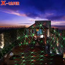 red green moving eight flower garden laser lighting projector outdoor landscape garden laser lights