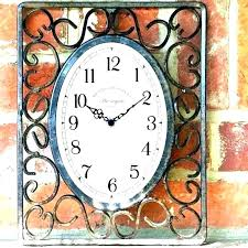extraordinary large outdoor thermometer decorative garden clocks wall clock with uk thermomet